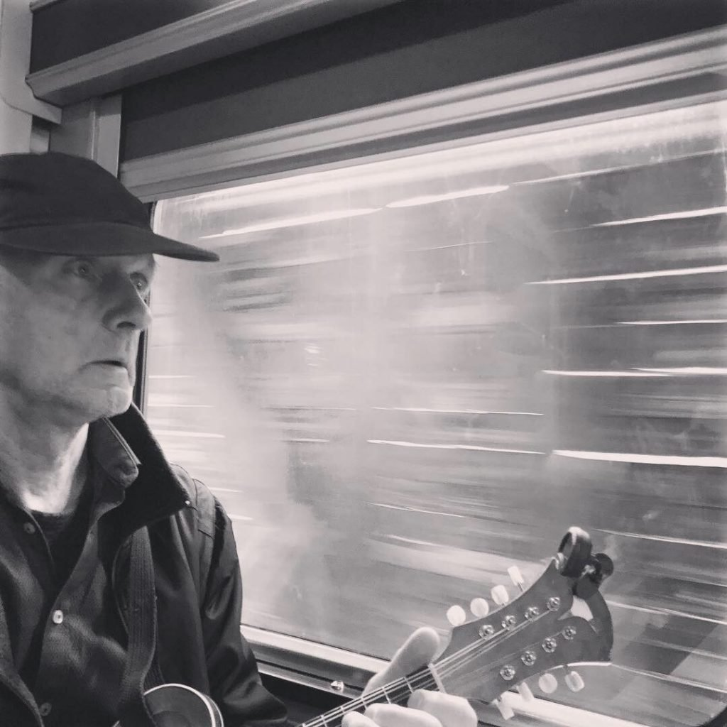 BLue DIrt Girl albert on mandolin