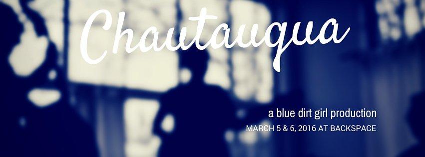 blue dirt girl Chautauqua March '15 Backspace Venue