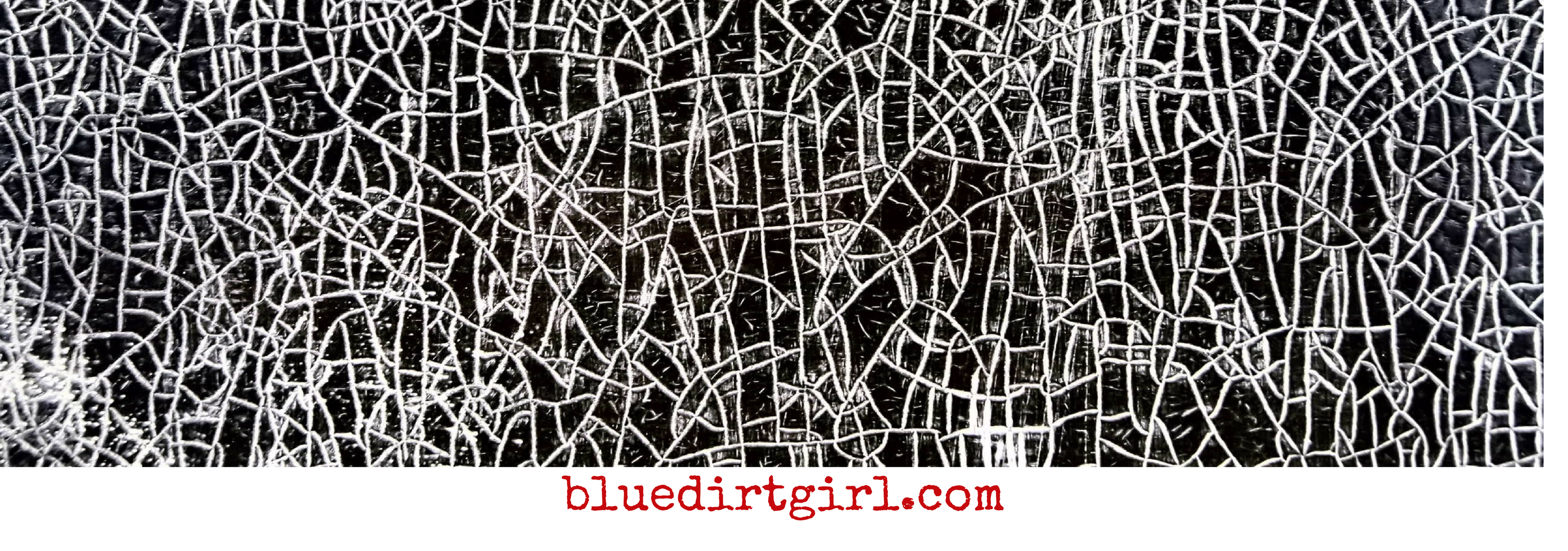 blue dirt girl augmented shed a tear image image by greg corrigan