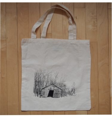 blue dirt girl tote piggery