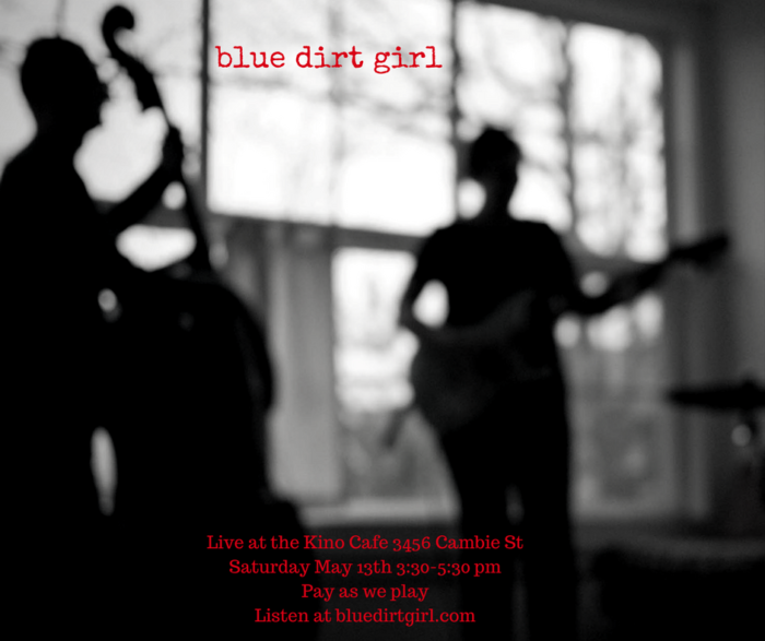 blue dirt girl Kino cafe duo show May 13 Kiki Yee photo image