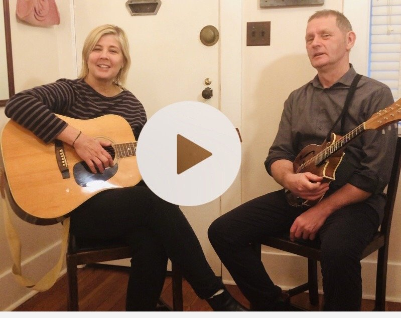 blue dirt girl acoustic song Youtube video still nov 19 for Via Rail application