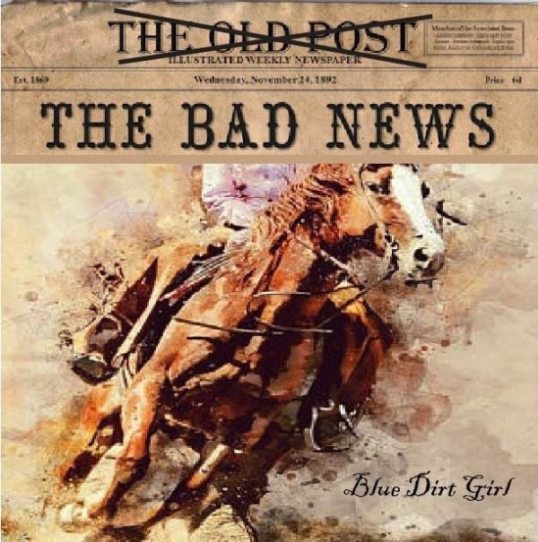blue dirt girl single song The Bad News image by Reed Sutherland-Corrigan