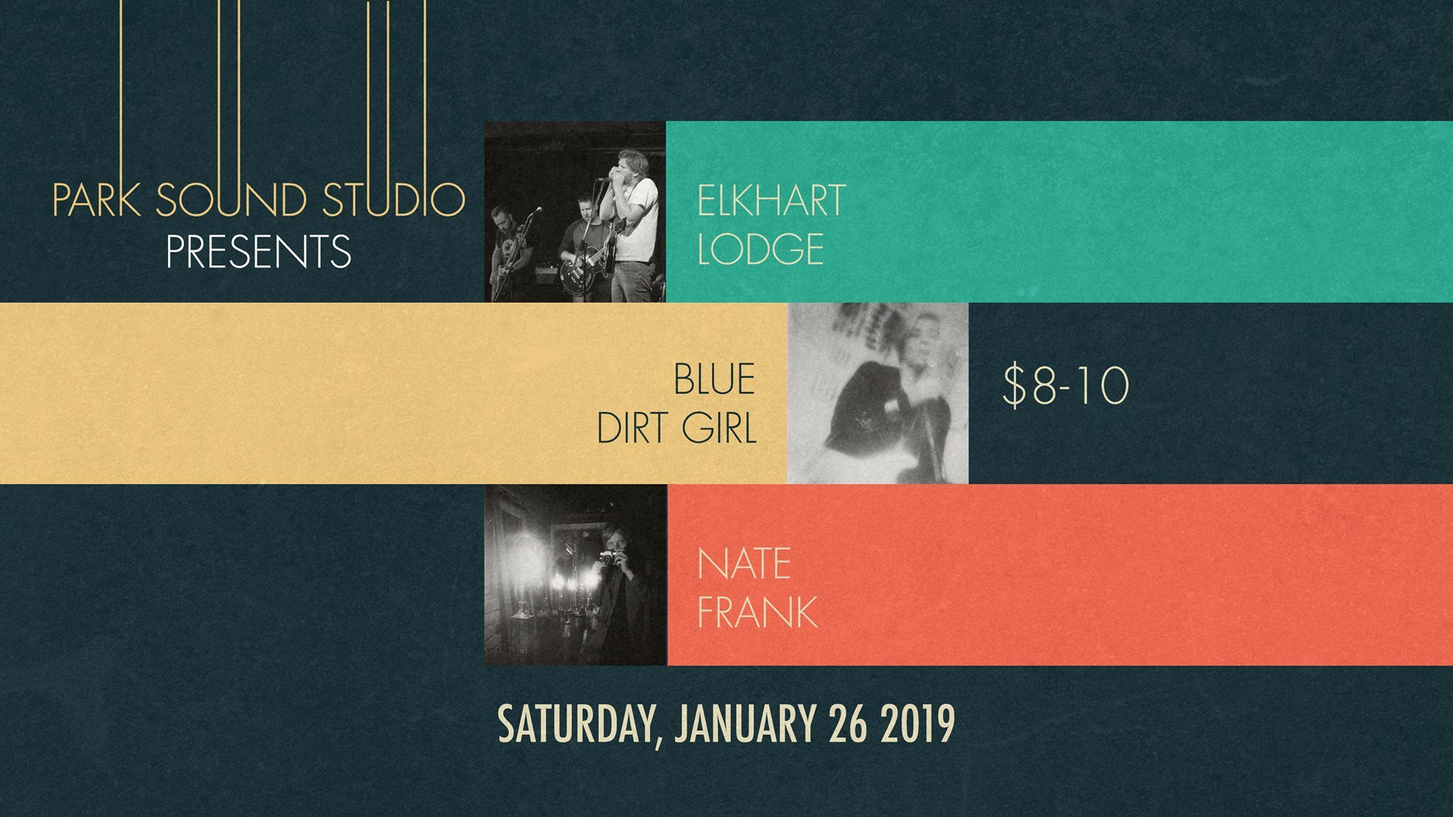 blue dirt girl PArk sound studio show Jan '19