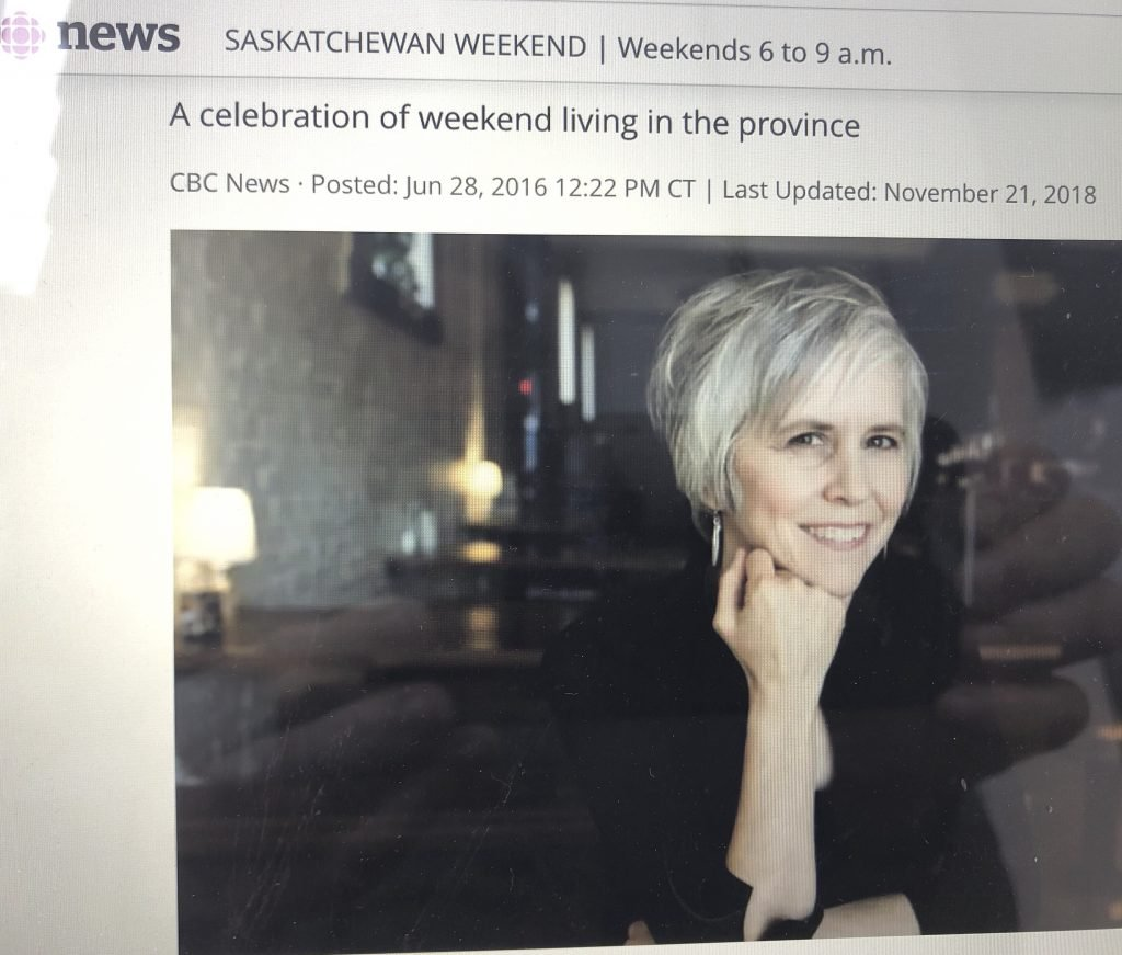 Blue Dirt Girl Sask CBC interview may 18 2019