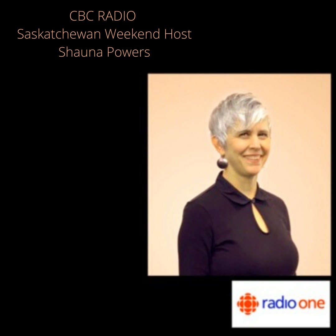 Blue Dirt Girl CBC radio Saskatchewan interview Shauna Powers