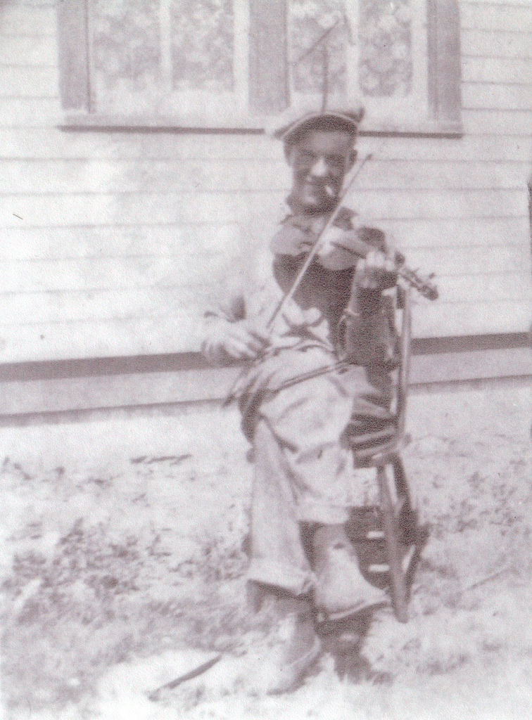 Blue Dirt Girl grandpa martin and fiddle 2015 early 1900's