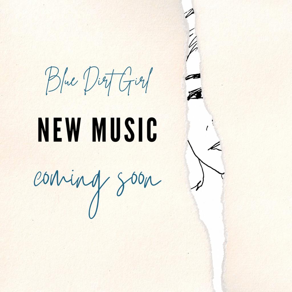 Kiki Yee sketch Blue Dirt Girl coming soon EP 2021 Nothing is as it was.