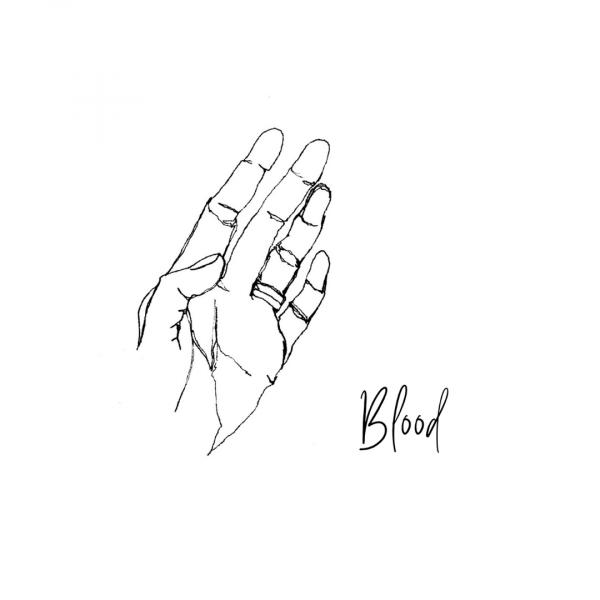 Blue Dirt Girl sketch blood by kiki yee newmusic2021